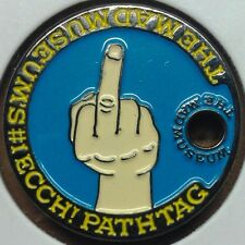 MAD Magazine #166 April 74' Middle Finger #1 Ecch! Pathtag Coin Geocoin Geocache