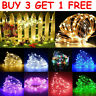 Battery Operated Micro Rice Wire Copper LED String Fairy Lights Party Decor