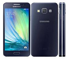 """New Unlocked Samsung Galaxy A3 SM-A300FU 16GB 4.5"""" 4G LTE Smartphone Black"""