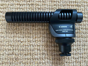 """Canon DM-100 Directional Stereo Microphone - """"S"""" Mini   VGC"""