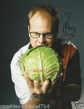 """Alton Brown from Food Network TV Good Eats 8x10"""" reprint Signed Photo #2 RP"""