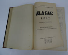 Altes Buch der Zauberkunst Zauber Tricks Magie 1942 seltene Kriegsjahresausgabe