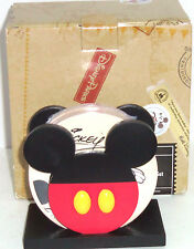 Disney Coasters Mickey Mouse Pluto Goofy Donald Duck Fab 4 Theme Parks New