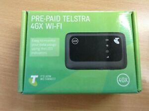 ZTE MF910V Modem Telstra 4GX Wi-Fi Mobile Hotspot Pocket #9636N