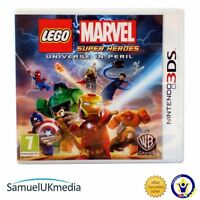 LEGO Marvel Super Heroes - Universe in Peril (Nintendo 3DS) **GREAT CONDITION**