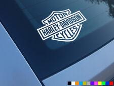 HARLEY DAVIDSON MOTORCYCLES STICKER DECAL BUMPER VINYL MOTORBIKE FUNNY LOGO CAR