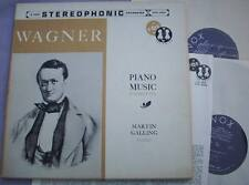 WAGNER Complete Piano Music MARTIN GALLING USA VOX 2 LP STEREO 1st SVUX 52022