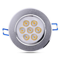 1×21W Warm White LED Downlight Ceiling Recessed Light Lamp Bulb AC 85-265V