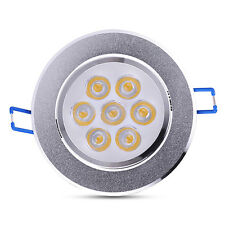 21W LED Recessed Ceiling Panel Down Light Bulb Spot Lamp Round For Indoor Home