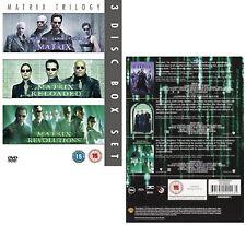 THE COMPLETE MATRIX TRILOGY 1999-2003  + RELOADED + REVOLUTIONS R2 DVD not US
