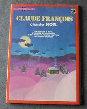 Claude François, chante Noel - livre disque,  EP - 45 tours