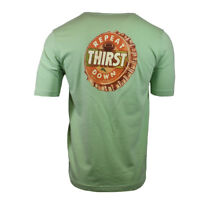 TOMMY BAHAMA Men's T-shirt THIRST REPEAT DOWN Football Game Beer S M Summer Tee