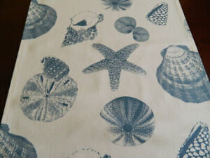 Pacific Blue Shells   Table Runner   Home Decor, Parties, Showers