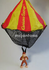 LOOSE Wendy's 2000 Curious George PARACHUTE Toss Throw Monkey APE H.A. Rey