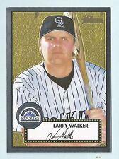 LARRY WALKER 2001 TOPPS HERITAGE CHROME /552 ROCKIES