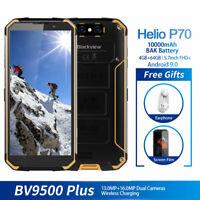 5.7Blackview BV9500 Plus Rugged Waterproof Smartphone 10000mAh 16MP+13MP Yellow
