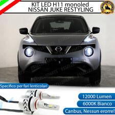 KIT LED H11 6500K CANBUS 12000 LUMEN MONO LED NISSAN JUKE RESTYLING