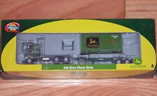 ATHEARN 7744 FREIGHTLINER TRACTOR WITH CHASSIS AND 20' CONTAINER JOHN DEERE