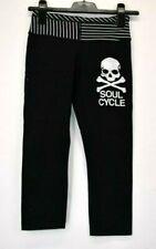 LuLulemon Women's 4 (XS)  Crop Capri Legging Pants Skull & Crossbones Soul Cycle