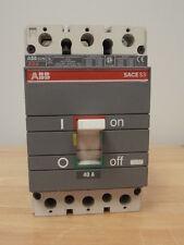 ABB SACE S3 S3N 40A 3-POLE CIRCUIT BREAKER