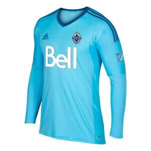 Vancouver Whitecaps FC Adidas Men's Bright Cyan Long Sleeve Goalkeeper Jersey