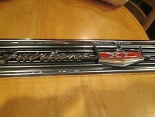 N.O.S. 1966 Ford Fairlane  XL Rear Trunk Lid Molding with emblem! NEW. RARE