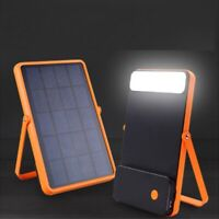Smart portable solar power station panel Charger Generator Emergency Flash Light