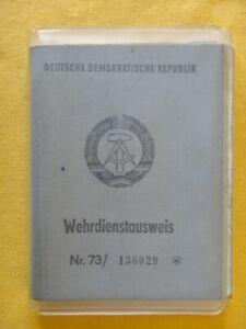 DDR Wehrdienstausweis (12)  !!!!!