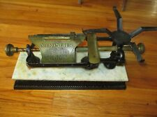 ANTIQUE SCALE THE MICROMETER DOGE SCALE COMPANY 19001903 GREAT 20 LB POUND NY