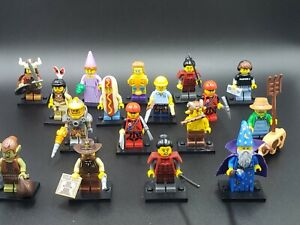 LEGO-MINIFIGURES SERIES X 1 BEARD FOR THE WIZARD  SERIES 12 PARTS 12