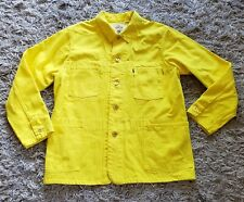 "🔥Levi's Made And Crafted Motofumi ""poggy"" Chore Coat JAPAN Yellow Men L RARE!"
