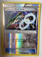 Pokemon Roaring Skies 87/108 Rayquaza Spirit Link Trainer Uncommon Reverse HoloB