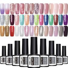 8ml LEMOOC Nail Vernis à Ongle Glitter Semi-permanent UV Gels Polish Manucure