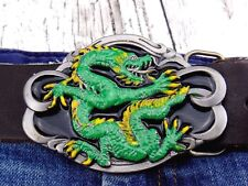 Gürtelschnalle Drachen Draco Asien Damen Herren Wechselschnalle fur 4cm Buckle