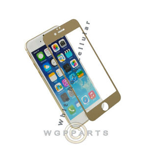 Apple iPhone 7/6s Prodigee Colored Tempered Glass - Gold Protection Film Cover