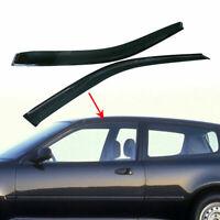 For 1992-1995 Honda Civic Hatch 3Dr Smoke Door Window Visors Rain Guard EG SI