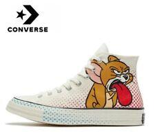 Original Converse Chuck Taylor All Star 1970s Tom & Jerry print FREE SHIPPING