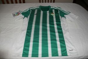 T-Shirt Official of The Real Betis Football Brand Adidas Size M Cotizada