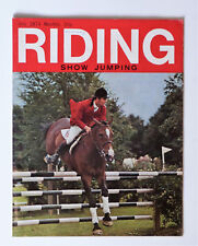 Vintage RIDING Magazine: July 1974, Show Jumping Number.