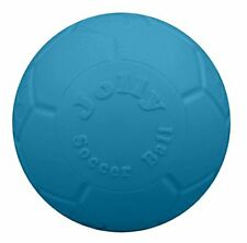 """Jolly Pets 8"""" Soccer Ball, Ocean Blue, Large/X-Large"""