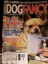 Chihuahua Boston Terrier Redbone Coonhound June 2004 Dog Fancy Magazine