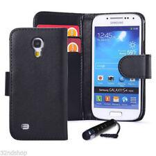 Fundas con tapa Para Samsung Galaxy S4 de color principal negro para teléfonos móviles y PDAs