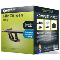 Anhängerkupplung WESTFALIA abnehmbar für CITROEN DS5 +ES Set kpl. NEU inkl. EBA