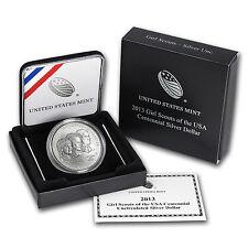 2013-W Girl Scouts $1 Silver Commem BU (w/Box & COA) - SKU #74965