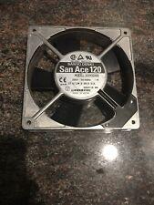 Sanyo Denki, 109S088, San Ace 120 Fan 200V 50/60Hz Axial Computer Cooling Fan