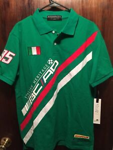 Eternity BC/AD Italian Heritage Green Polo Size Large