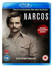 NARCOS Stagione 1 Completa BOX 3 BLURAY in Inglese NEW .cp