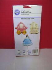 Wilton Candy Mold DISNEY FAIR TALE LOLLIPOP MOLD  NWT