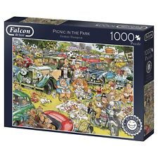 Picnic in the Park Graham Thompson 11199 Puzzle Falcon Jumbo 1000 Teile NEU OVP