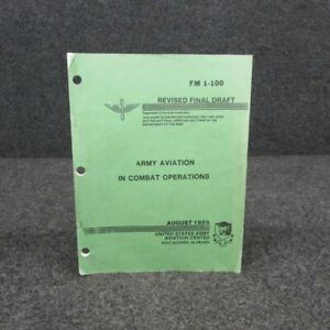 FM1-100  1988 Army Aviation In Combat Operations Handbook